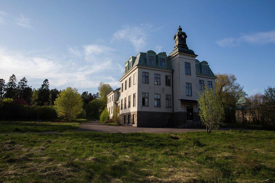övergivna sanatorium skåne